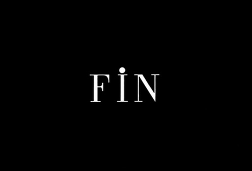 Fin end of move credits