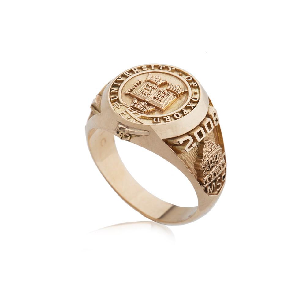 Girls Rose Gold Class Rings