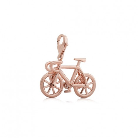 Bicycle Charm in Rose Gold Vermeil