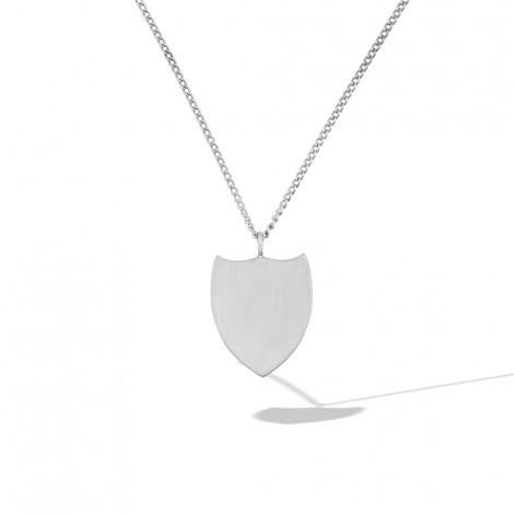 Renaissance Shield Necklace