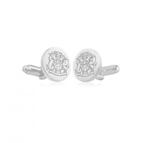Shield Cufflinks, T-Bar
